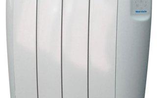 Vent-Axia Opal Aluminium Heater