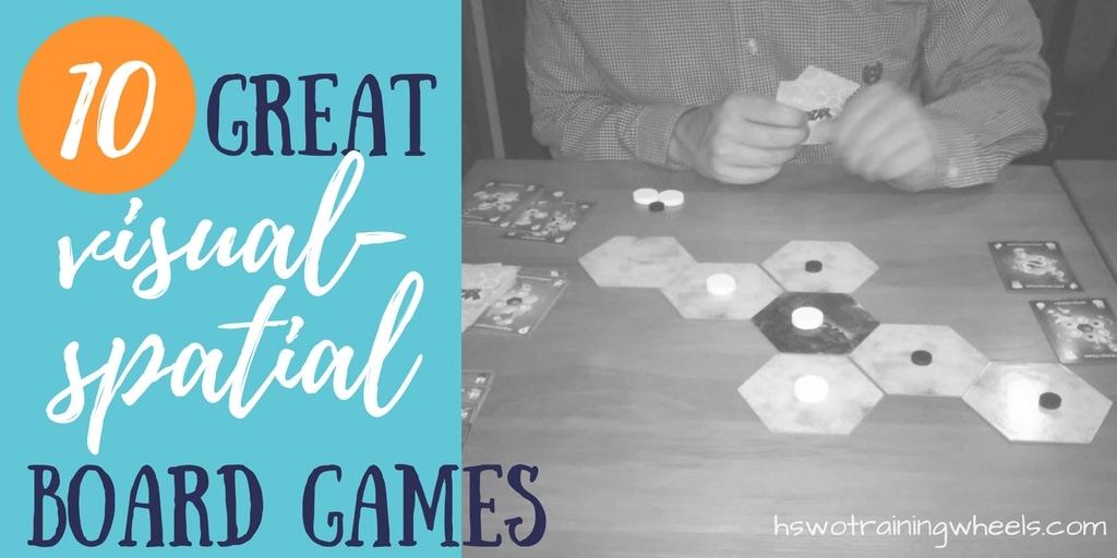 10 Great Visual-Spatial Board Games