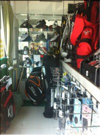 Golf Clubs and shoes for sale in Hua Hin Thailand