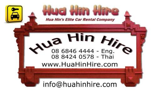 Hua Hin Car Hire Rental