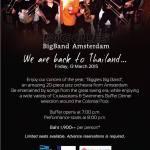 Biggles Big Band Amsterdam @ the Centara Grand Hotel, Hua Hin