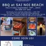 BBQ @ Sanae Beach Club