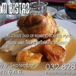 Sunday Roast @ The Palm Bistro