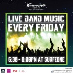 Live band music at Surf Bar