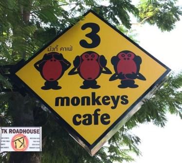 3 monkey's Cafe Khao Takiab