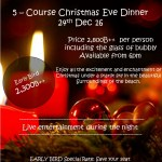 Sanae Beach Club Christmas Events