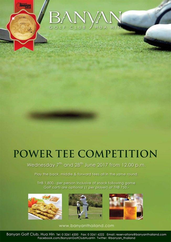 banyan golf club power tee 7 and 28 june 2017