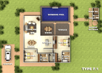Type F.1 Orchid Palm Homes Villa For sale in Hua Hin