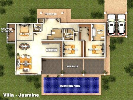 Villa-Jasmine Orchid Palm Homes Mali Residenc Hua Hin (1)