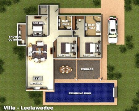 Villa-Laelawadee Orchid Palm Homes Mali Residenc Hua Hin (2)