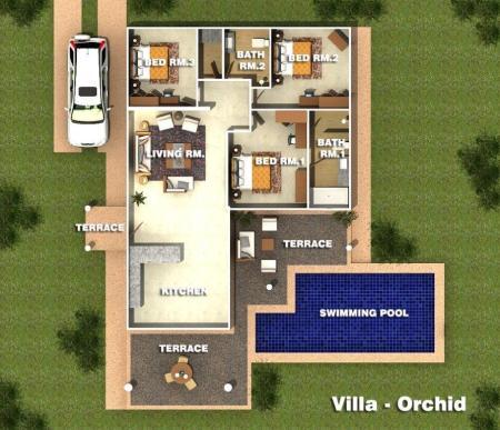 Villa-Orchid Orchid Palm Homes Mali Residenc Hua Hin (4)