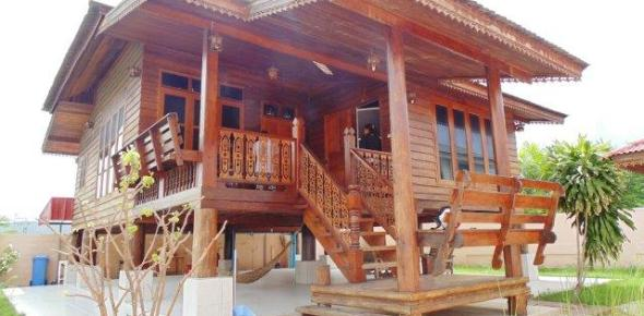 Hau Hin Thai Style House wood for Sale