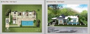 Sivana Gardens Hua Hin Thailand Plan-E