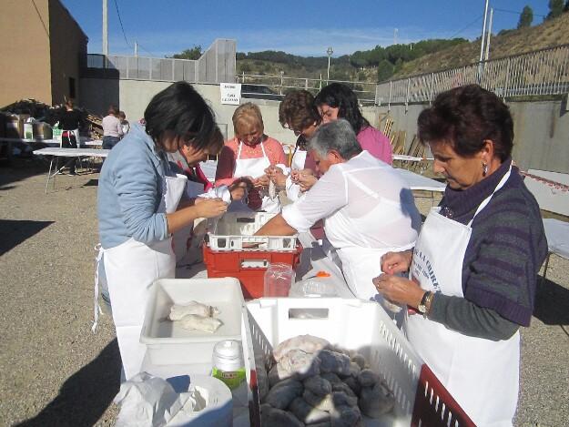 Fiestas de la chireta en Pozán de Vero. Fuente imagen: Radio Huesca