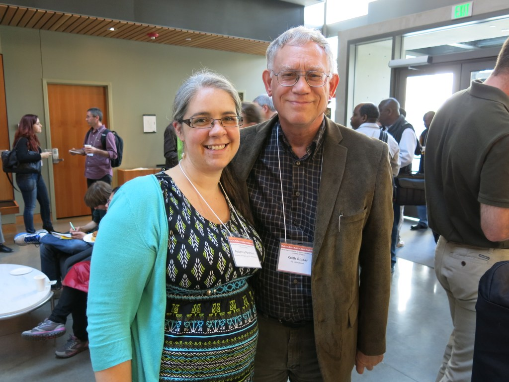 Becky with Keith Snider at ACAL 46