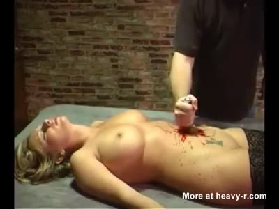 belly stabbed shot with arrow