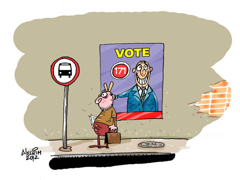 Candidatos e Eleitor - VOTE!!!!!!!!!!