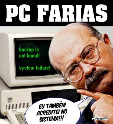 O assassinato misterioso de PC Farias
