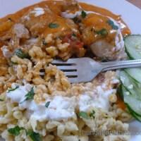"""Chicken Paprikash with """"Nokedli"""" Noodles"""