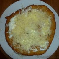 Lángos - Hungarian Fried Bread
