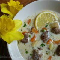 Lamb Ragout Soup With Tarragon at Easter