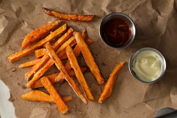 crispy sweet potato fries