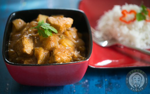 Thai Mussaman Chicken Curry