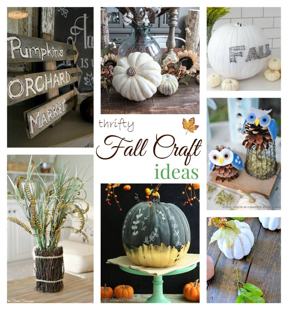 Thrifty Fall Crafts