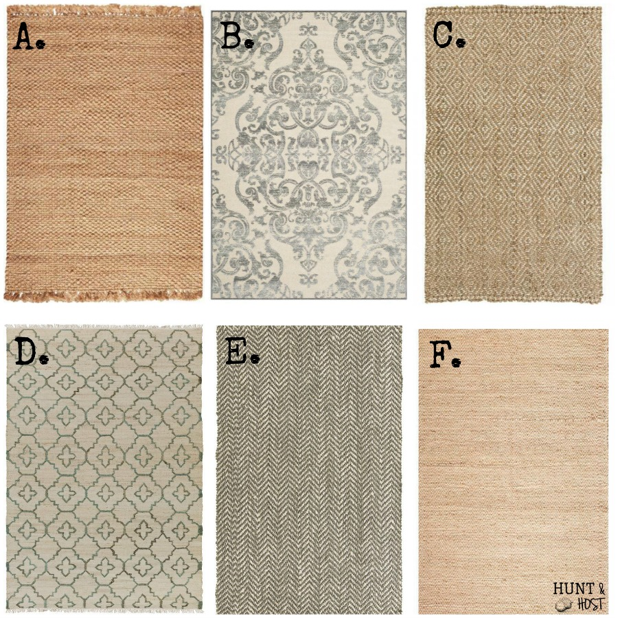 My favorite neutral rug choices. Making way for some stylish rug layering!