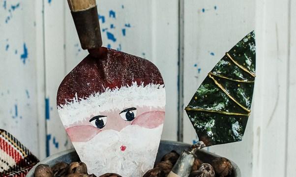 Old Tool Santa