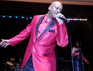 Lead singer at the Motown Show