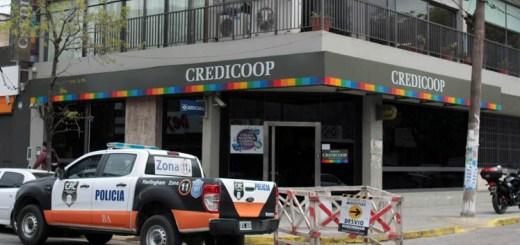 Asalto Banco Credicoop Hurlingham