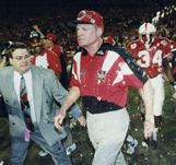 Coach Tom Osborne Wins 1st National Title