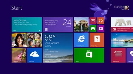Windows 8.1: il ritorno del tasto Start