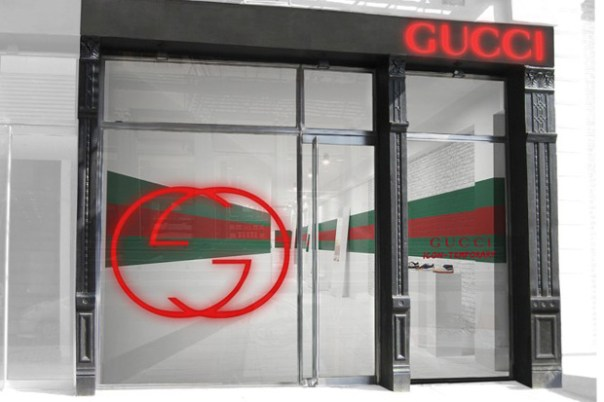 gucci icon temporary pop up sneaker store 1 Gucci Icon: Temporary Pop Up Sneaker Stores