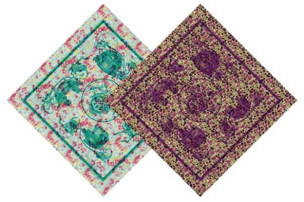 hermes liberty scarves 1 Liberty x Hermès Scarves