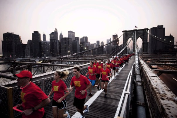 human nike race 2009 Nike+ Human Race 2009
