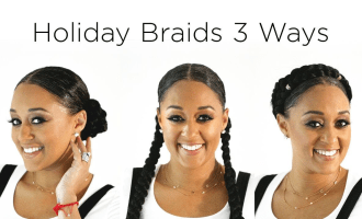 蒂亚·莫瑞(Tia Mowry)X Holiday Hair