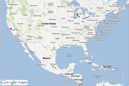 map of usa and mexico pictures to pin on pinterest pinsdaddy