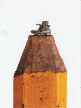 Галлерея скульптур из грифеля карандаша Dalton Ghetti
