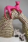 Галерея скульптур из миллиона восковых мелков
