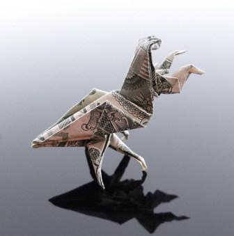 Галерея оригами из долларов (4)
