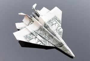 Галерея оригами из долларов (1)