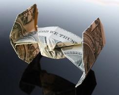 Галерея оригами из долларов (12)