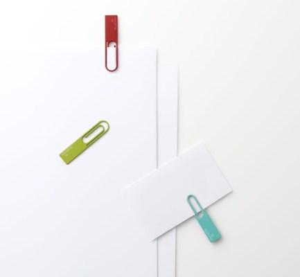 USB-флешка в виде скрепки (2)