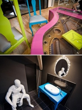 X3 Offices – креативный офисный интерьер от румынских дизайнеров (2)