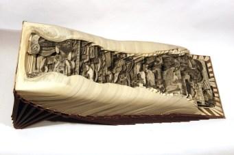 Галерея работ по вырезанию из книг Брайана Диттмера (5)