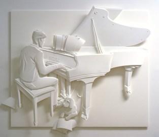 Поделки своими руками из бумаги: скульптуры Джефа Нишинаки (15)