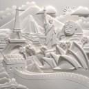 Поделки своими руками из бумаги: скульптуры Джефа Нишинаки (14)
