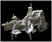 Поделки своими руками из бумаги от Аллена и Пэтти Экман, которые потрясают воображение (16)
